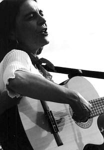 a Braccagni con la mia chitarra